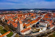 Bad Neustadt An Der Saale Aus Der Luft | Hochauflösende Luftbilder Von Bad Neustadt An Der Saale In Thüringen