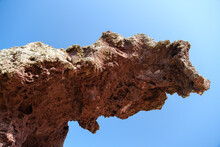 Roccia Dell'Elefante Or Elephant Rock On Sardinia