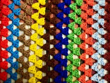 Colorful Beads On The Market