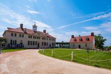President George Washington Home At Mount Vernon In Virginia,  USA