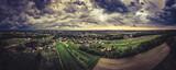 Fototapeta Na sufit - chmury burzowe nad Górnym Śląskiem, Jastrzębie Zdrój