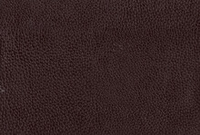 Closeup Of Brown Leather Texture Background