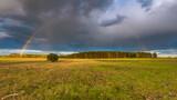 Fototapeta Tęcza - Tęcza po burzy