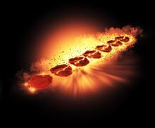 Seven Seals Wax Revelation Fire Explosion