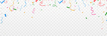 Happy Birthday Balloons Greeting Card Banner Party Holiday Balloons Sweets Confetti Day Anniversary Firework.