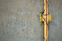 Old Concrete Wall Abstract Background , Grunge Background