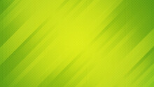 Abstract Green Background With Stripes. Design Template For Brochures, Flyers, Magazine, Banners Etc