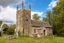 The 12th Century Church At Foxley, Norton, Wiltshire, England, United Kingdom