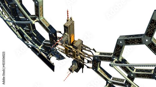 Valokuva Spaceship honeycomb structure