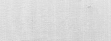 Panorama Of White Linen Texture And Background Seamless Or White Fabric Texture