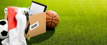 Postponed Sports Event With Copy Space