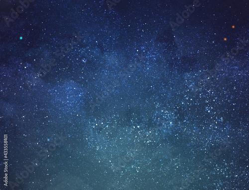 Fotografia Night sky with stars as background. Universe