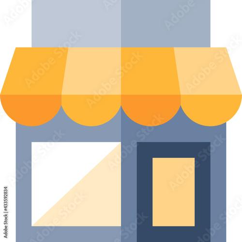 sklep wizualizacja  - fototapety na wymiar