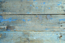 Ruined Old Shabby Wooden Background