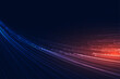 flowing speed lines technology background