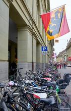 Varied Street Views Of The City Of Bern, Switzerland