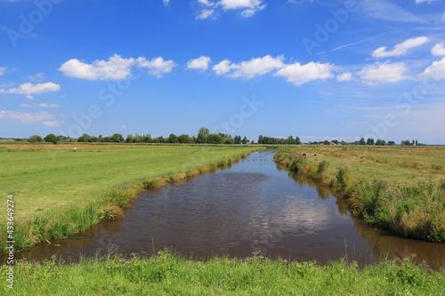 Photo Dutch polder landscape of Zaandijk
