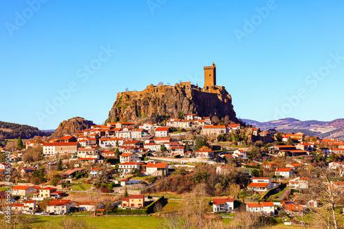 Obraz na płótnie village in the mountains