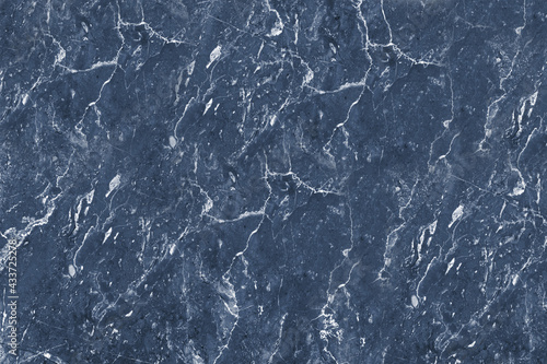 Canvas Print Marble texture background, blue background