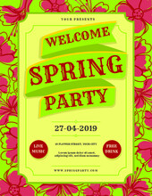Flyer Spring Party