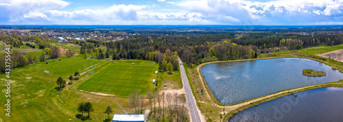 Foto Boisko piłkarskie i zalew świdnicki w miejscowości Świdnica