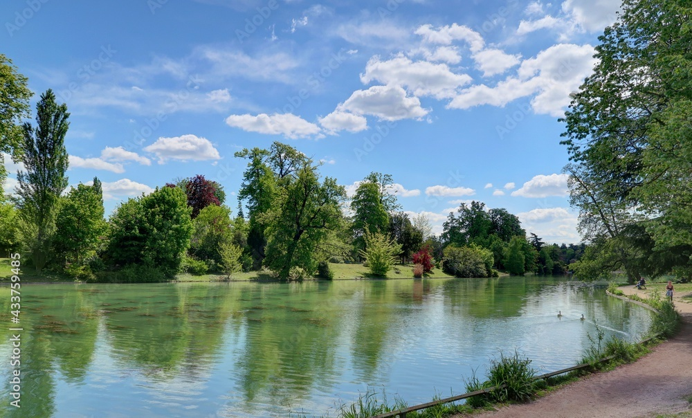 Bois de Boulogne à Paris