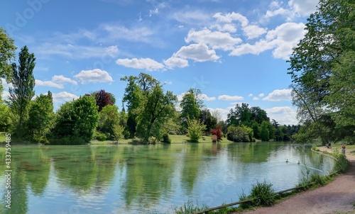 Bois de Boulogne à Paris - fototapety na wymiar