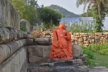 Ancient Hindu And Jain Temple Remains In Alwar,rajasthan,india,asia