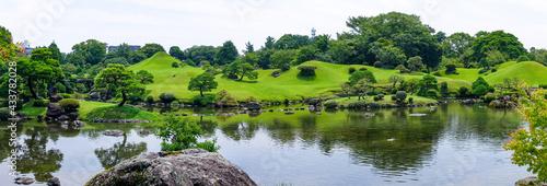 水前寺公園こと水前寺成趣園(熊本県熊本市中央区) Fototapet