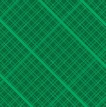 Seamless Pattern Square Design Green  Color
