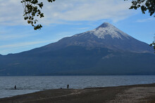 Osorno Volcano Llanquihue Lake South Of Chile