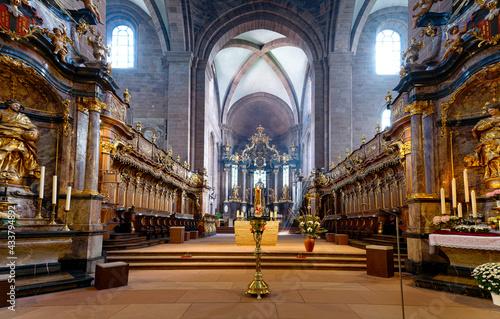 Canvas Kaiserdom Sankt Peter in Worms am Rhein