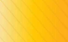 Abstract Yellow Line Vector Background.