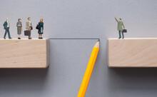 Business Teamwork Management, Problem Solving Concept