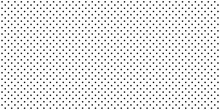 Background With Black Dots - Stock Vector