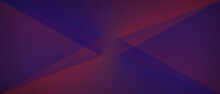 Abstract Background With Lines, Red And Blue Geometric, Luxury With Lines Transparent Gradient, You Can Use For Ad, Poster And Card, Template, Business Presentation