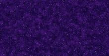 Purple Snowflakes Background .