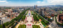 Aerial Photography Jinan Spring City Square