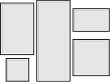 Illustration Of A Set Of Frames