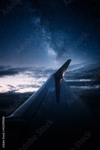 Photo Airplane wing