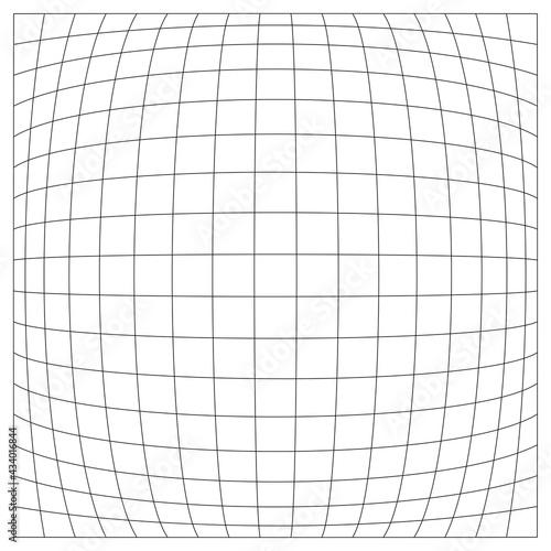 Fotografia, Obraz Grid, mesh, lattice, grating with distort, deform effect