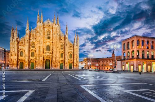 Fotografie, Obraz Milan, Italy - Duomo di Milano
