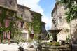 Das alte Bergdorf Saignon, Provence, Frankreich