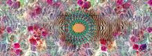 Colorful Kaftan Design Patterns -illustration