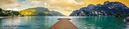 Fotografie, Obraz Garda lake - Riva del Garda