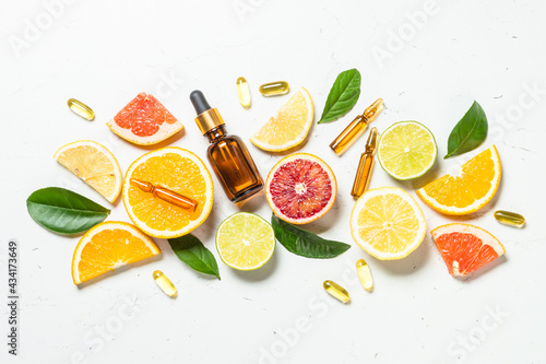 Vitamin C Fototapet