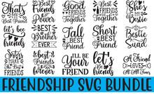 Friendship Svg Bundle