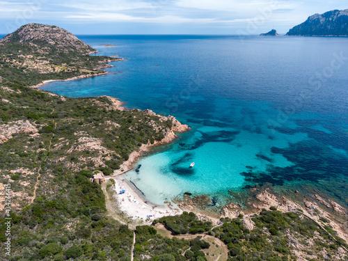 Spiaggia del Dottore, Capo Ceraso, Olbia - Sardegna nord orientale.