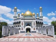 ブルネイ「ニューモスク」の女性用礼拝堂(ジャミ・アス・ハサナル・ボルキア・モスク)