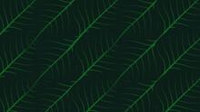 Peepal Leaf On Nature Pattern Background